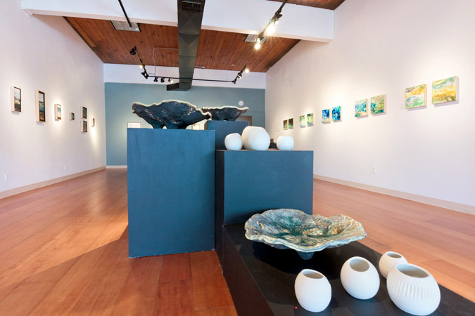 Water & Form, Oregon art exhibit by Emily Miller