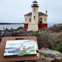 September on the Oregon coast