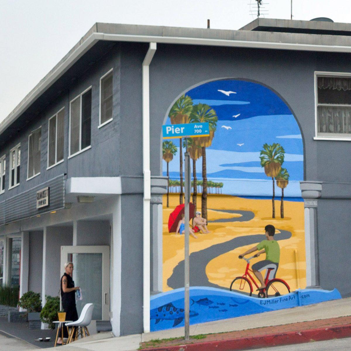 Beach Path Mural – Santa Monica, CA