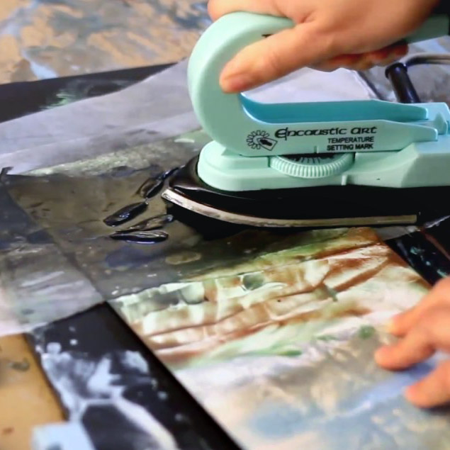 Artist Talk & Encaustic Demo Oct. 20 in Lake Oswego