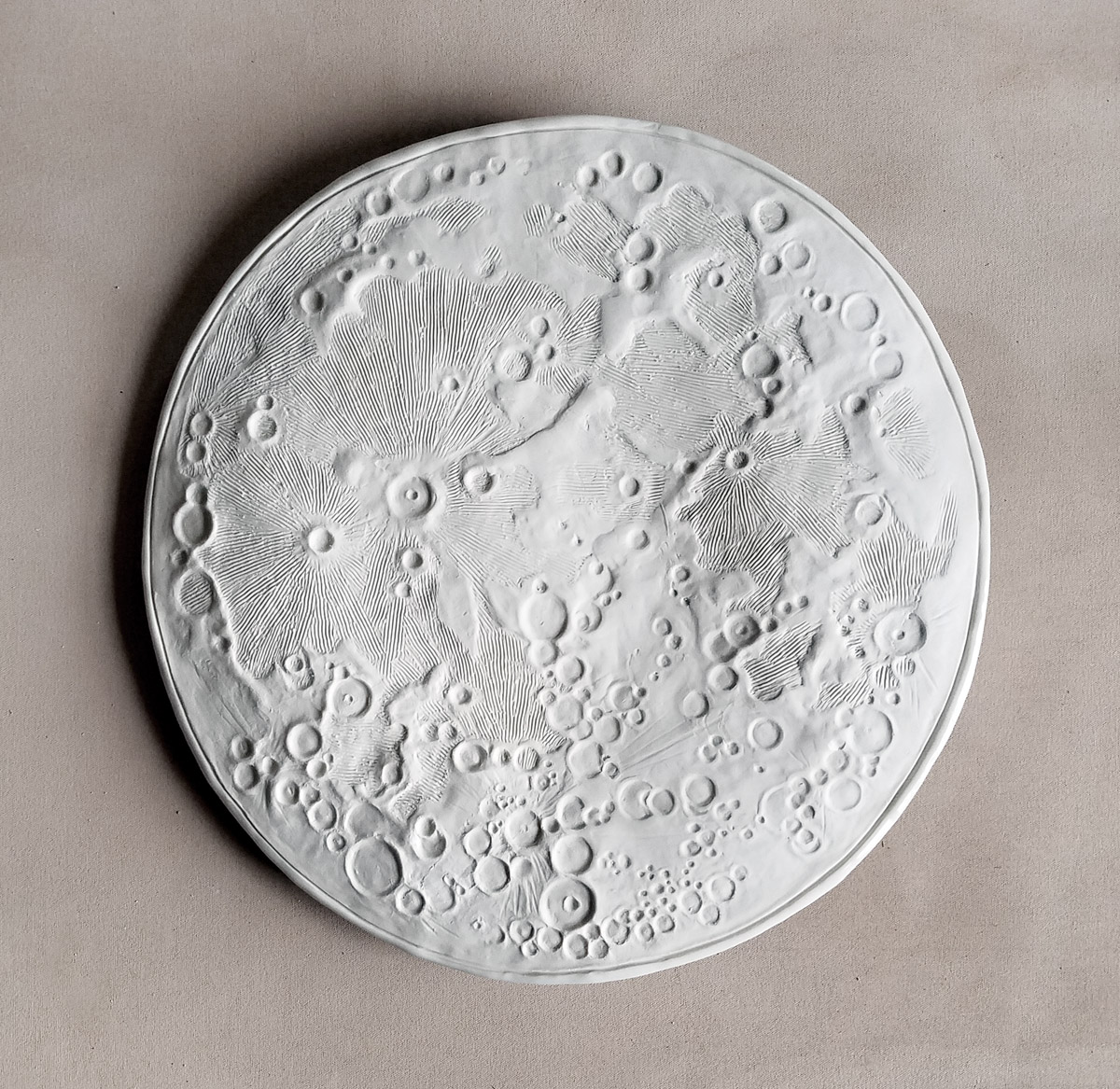 Full Moon ceramics by Emily Miller