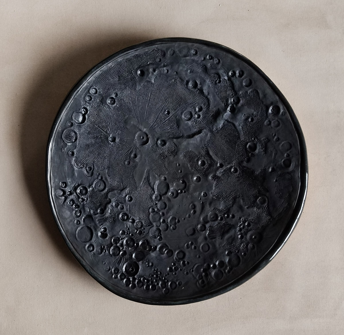 Dark Moon ceramics by Emily Miller