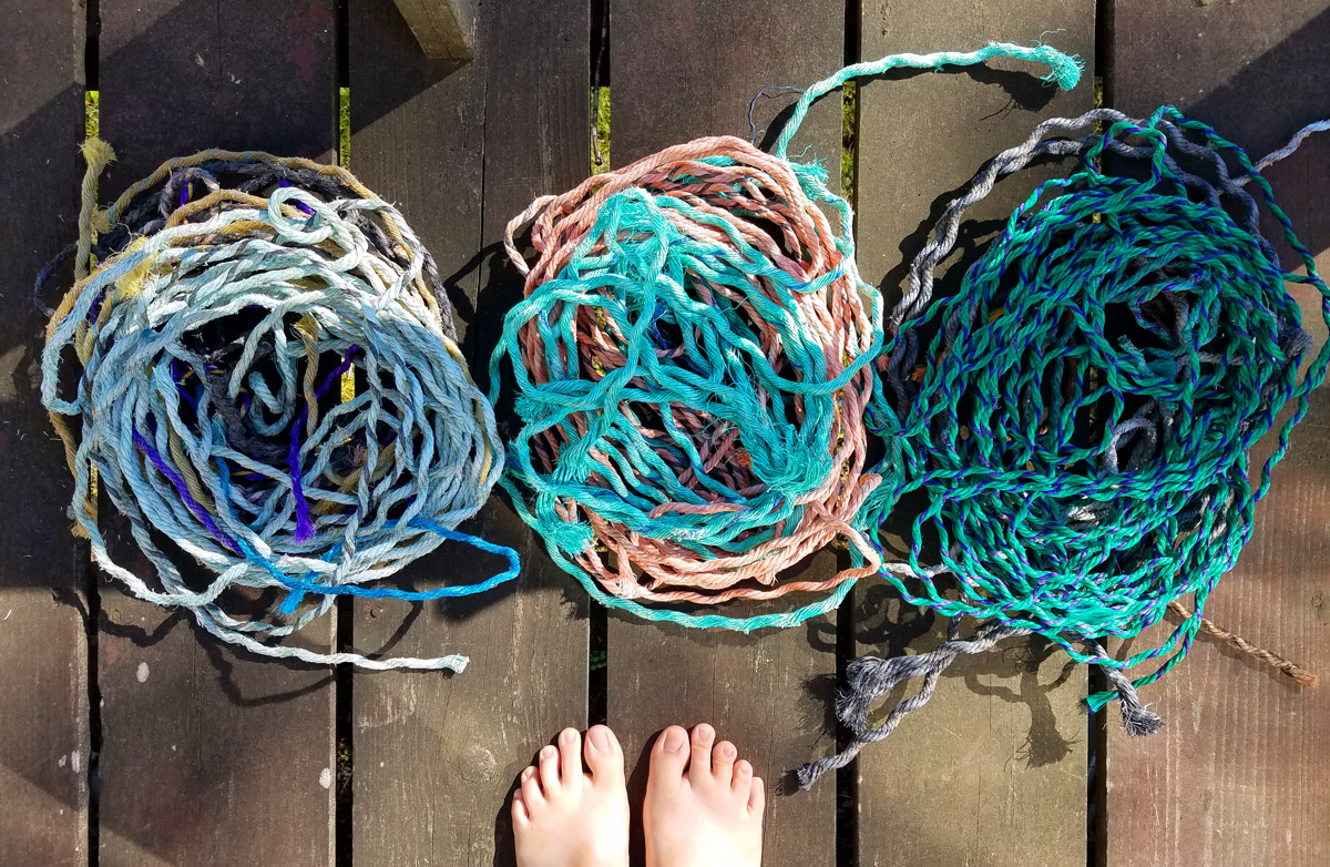 Fishing rope, Maine