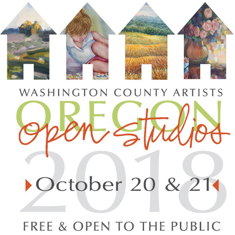 Oregon Artists Open Studio Tour – Oct. 20-21, 2018