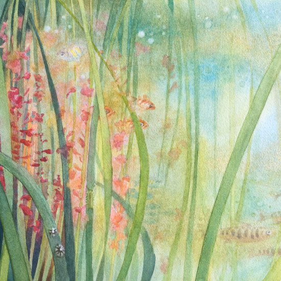 Introducing Lush landscapes: Eelgrass Meadow