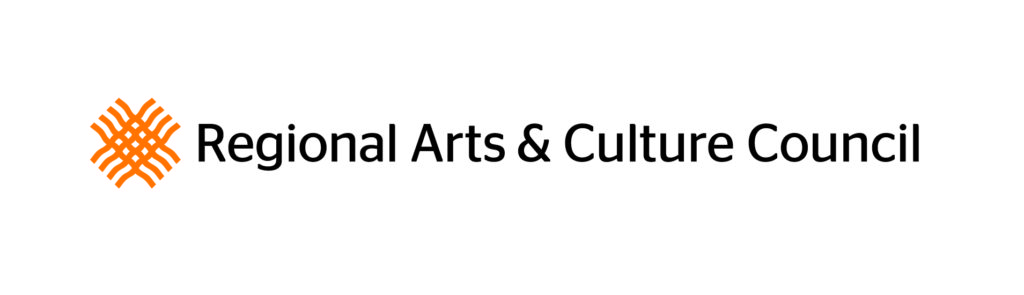 Funded in part by the Regional Arts & Culture Council